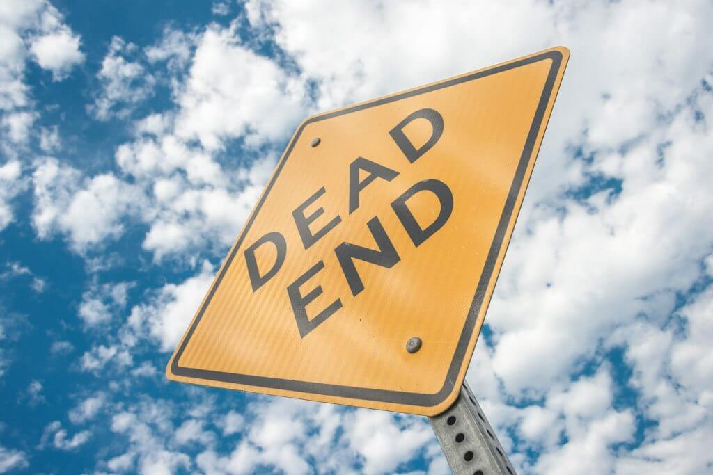 Dead End Sign Cul De Sac Hopeless  - Violinka / Pixabay